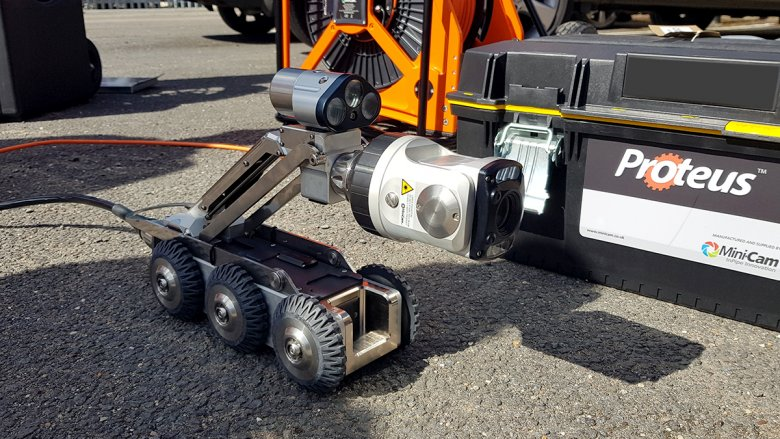 County Drains CCTV surveys with new Proteus Crawler system